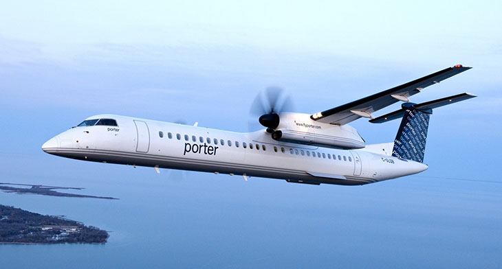 Porter Airlines to open new aircraft maintenance base