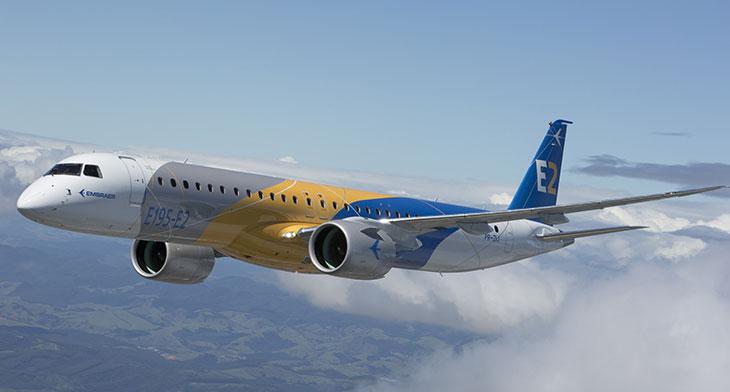 Pratt & Whitney in E195-E2 engine delivery milestone