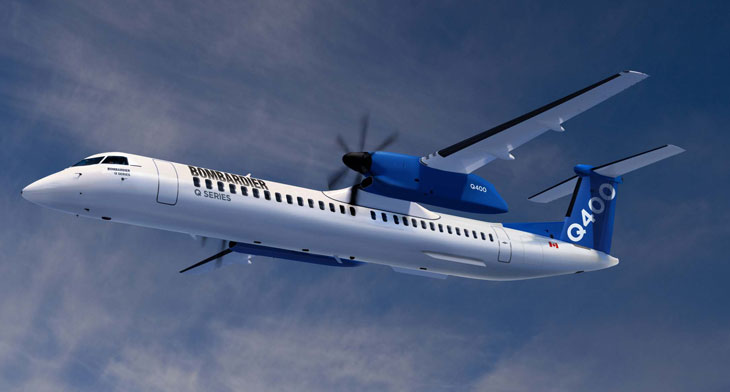 Bombardier sells Q400 programme to Viking Air owner