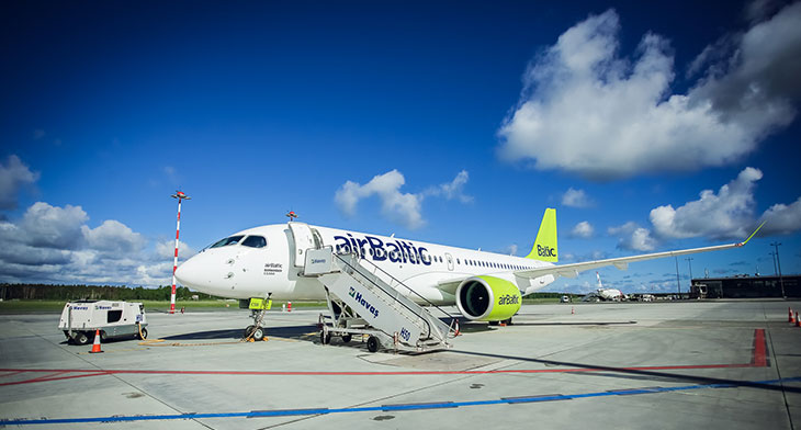 airBaltic extends service to Athens and Reykjavik