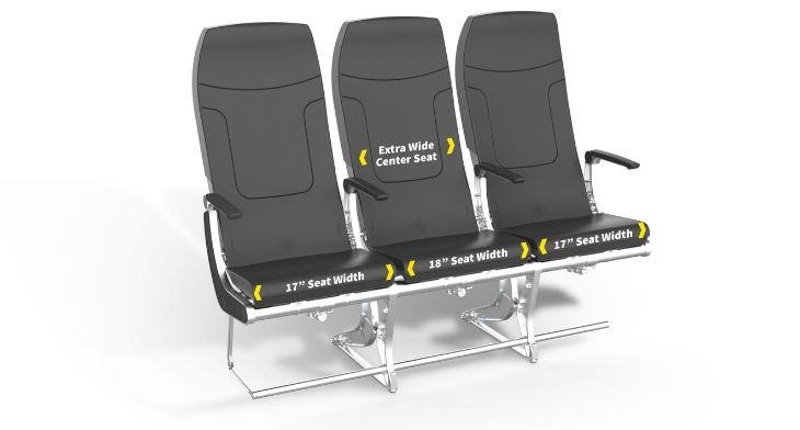 Spirit Airlines unveils new seats to open up ..