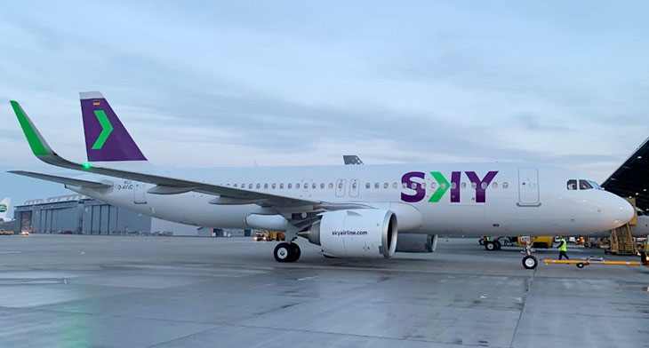SMBC hands over latest A320neo to Sky