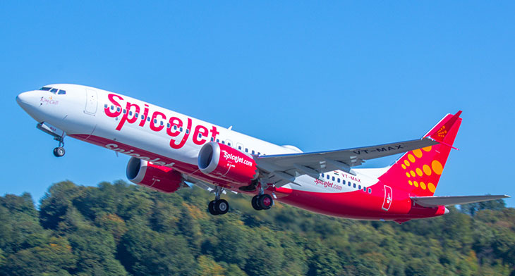 SpiceJet and S7 celebrate MAX 8 handovers