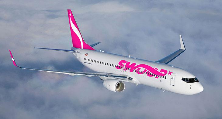 Swoop celebrates one-million passenger milestone