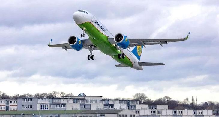 Uzbekistan Airways gets its first A321neo