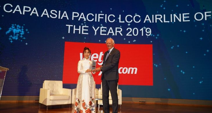CAPA names Vietjet as Asia Pacific LCC airlin..