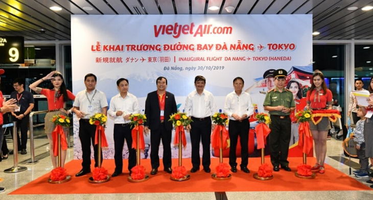 Vietjet launches service between Da Nang and Haneda