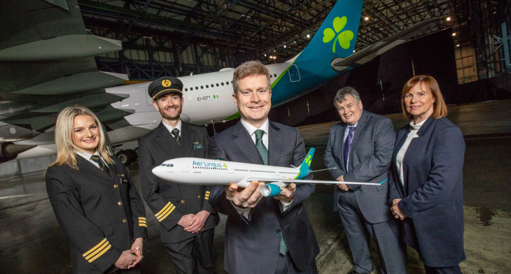 Aer Lingus unveils brand refresh and new live..