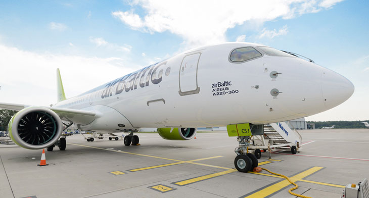 airBaltic passes audit for Base Maintenance C..