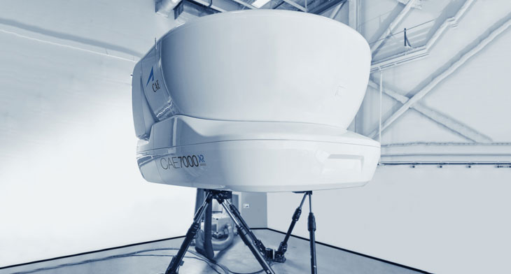 New Airbus A220 flight-simulator for airBalti..