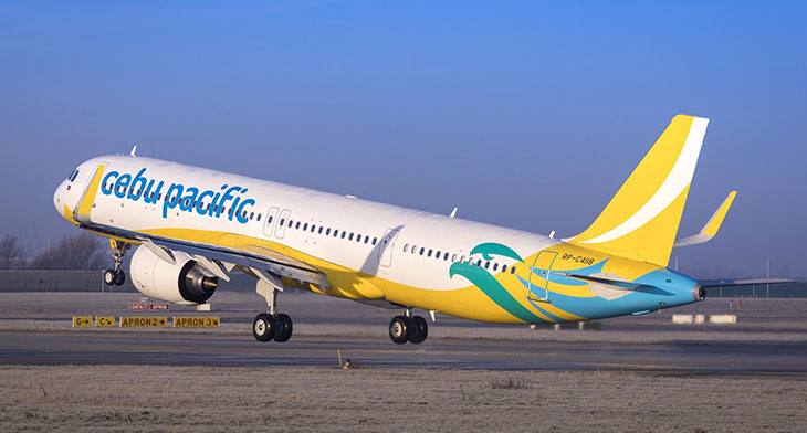 Cebu Pacific receives first A321neo