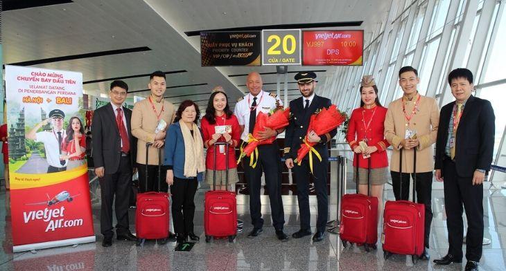 VietJet Hanoi Bali 2