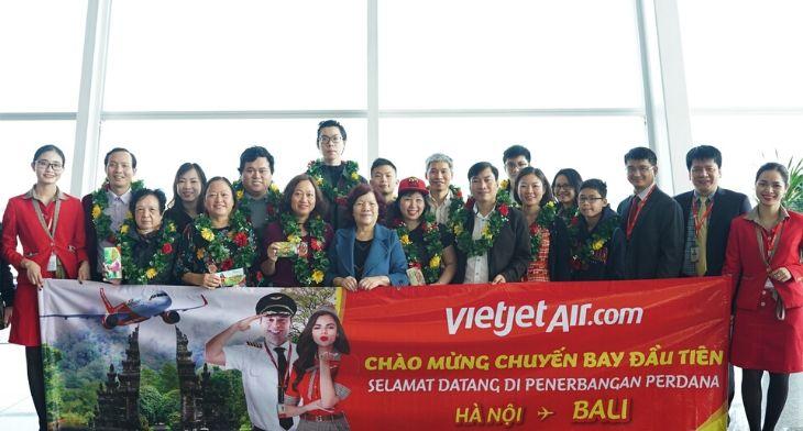 VietJet Hanoi Bali route