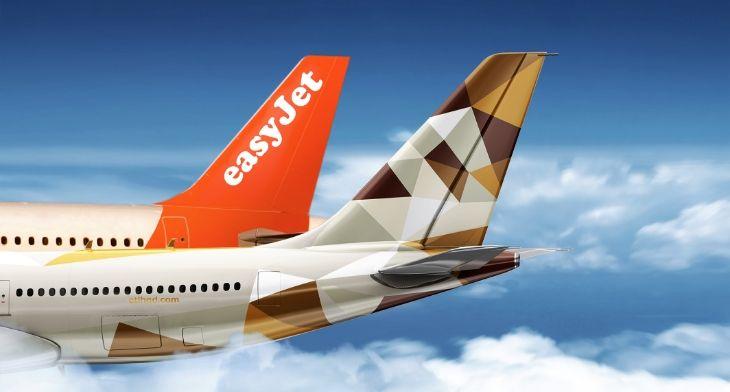 EasyJet forms partnership with Etihad Airways
