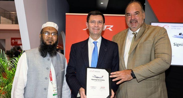 ATR Avation and US-Bangla signing
