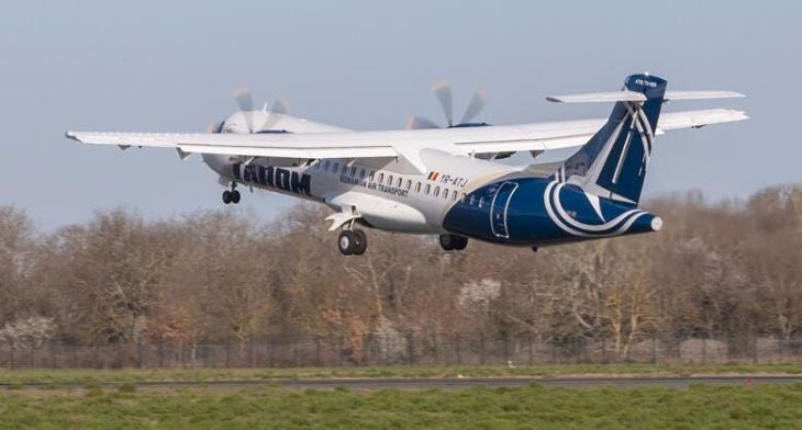 TAROM take delivery of first ATR 72-600