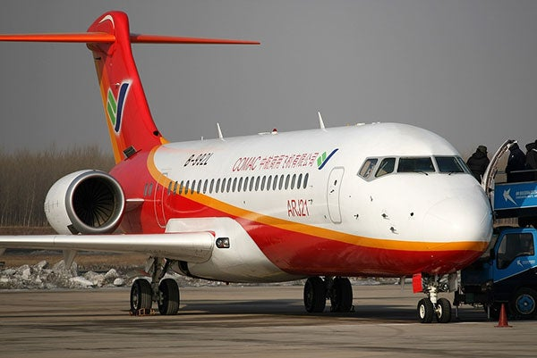 COMAC creates second assembly line
