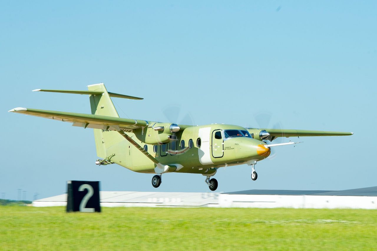 Cessna Skycourier completes maiden flight