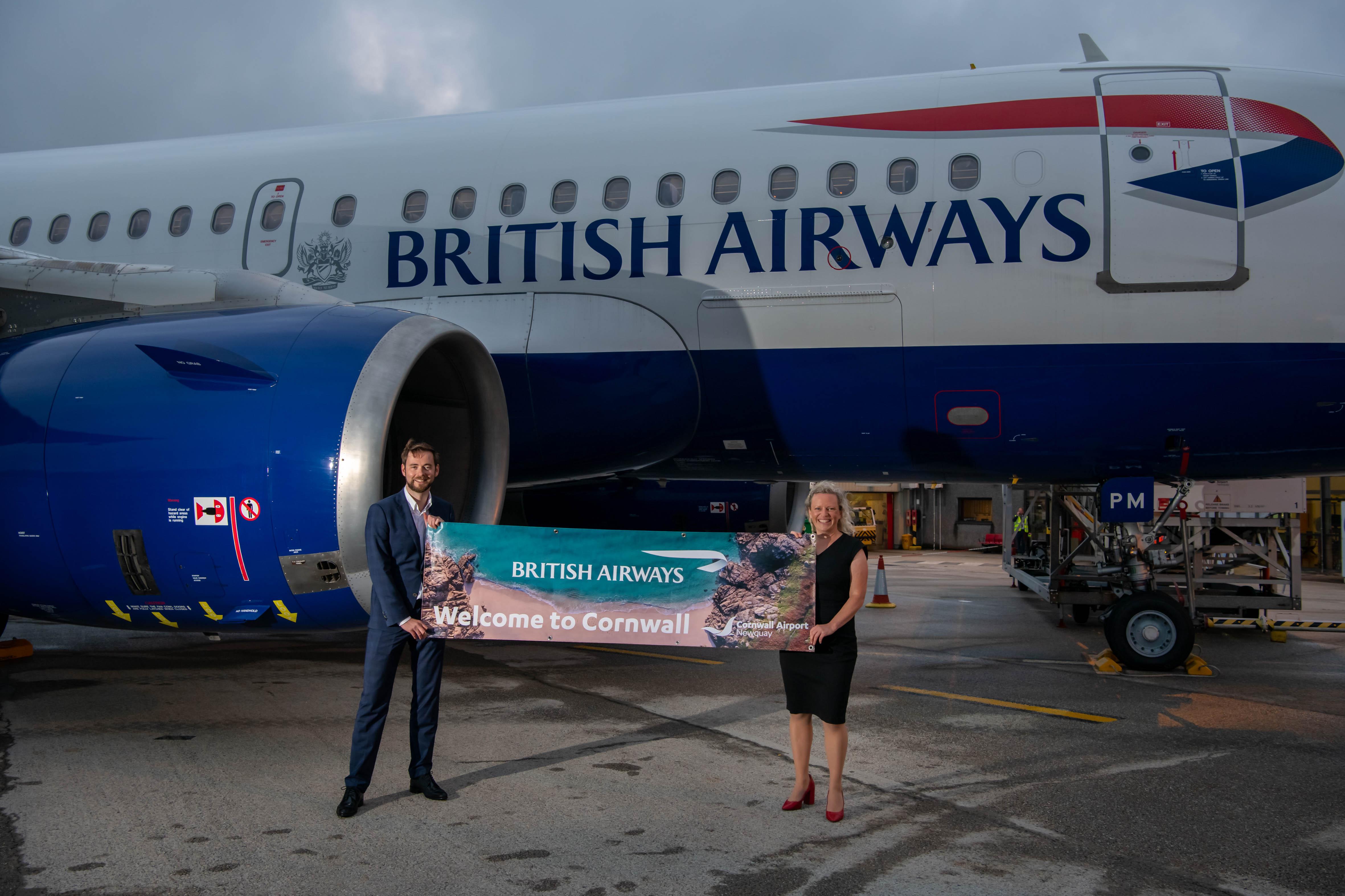 British Airways to make Cornwall-Heathrow link even more successful