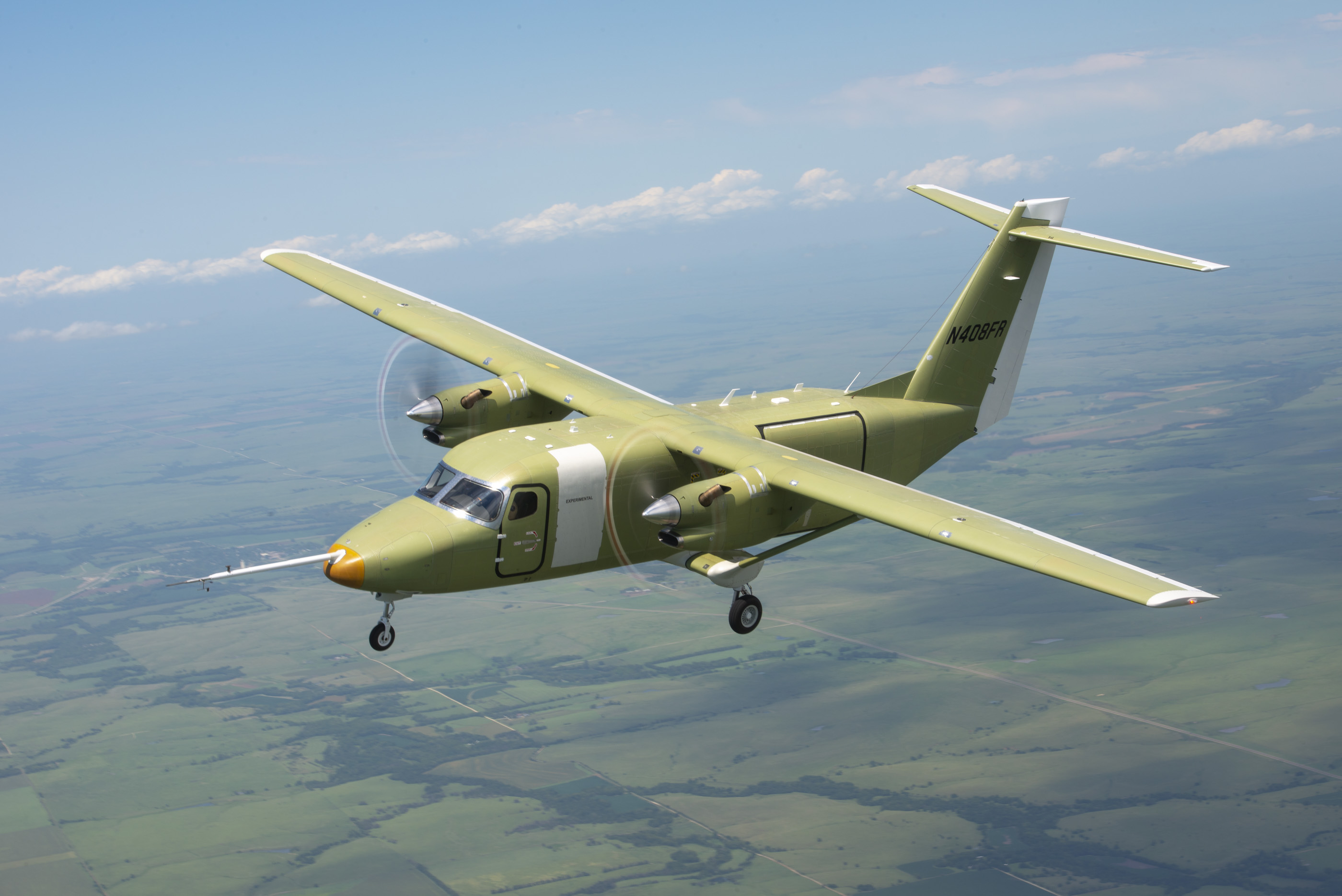 Momentum builds for Cessna SkyCourier as second test article takes flight