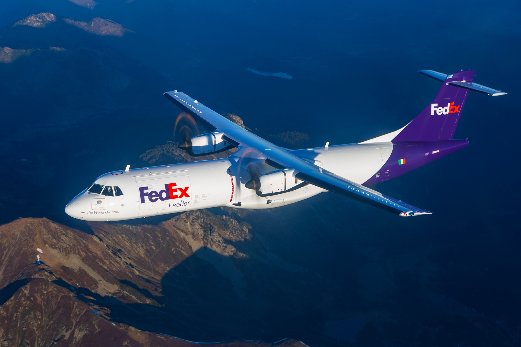 FedEx Express modernises fleet with delivery of first purpose-built regional ATR freighter
