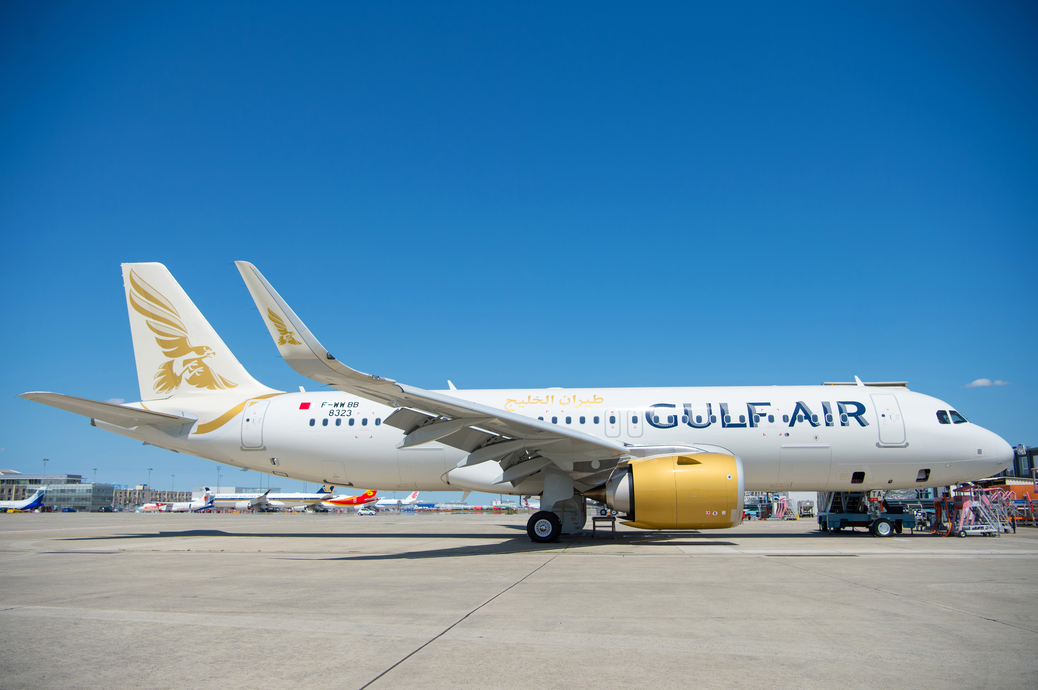 The Gulf Air agreement with AFI KLM E&M for full component support for its Airbus A320 family fleet