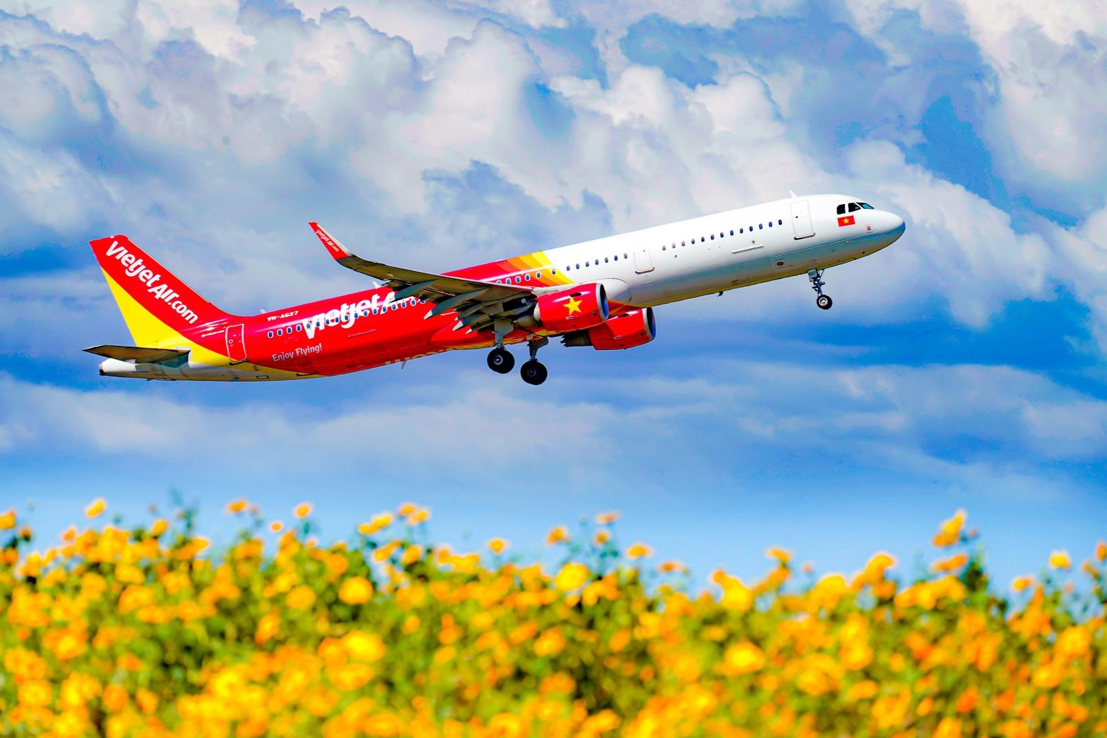 Vietjet resumes international services in April