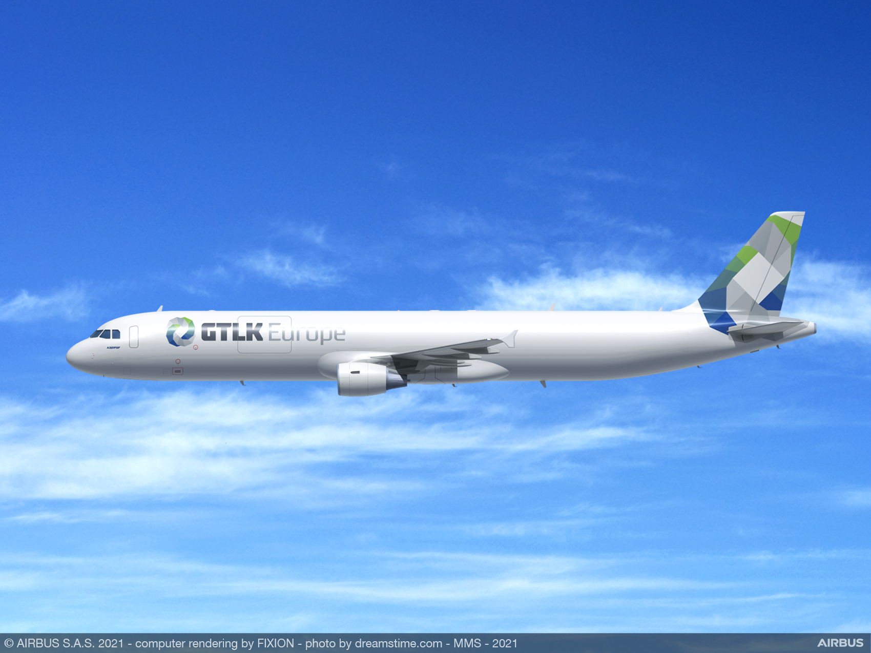 ST Engineering and EFW welcome GTLK Europe as new A321P2F customer