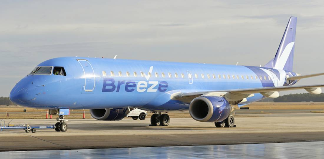 Breeze Airways all set for take-off