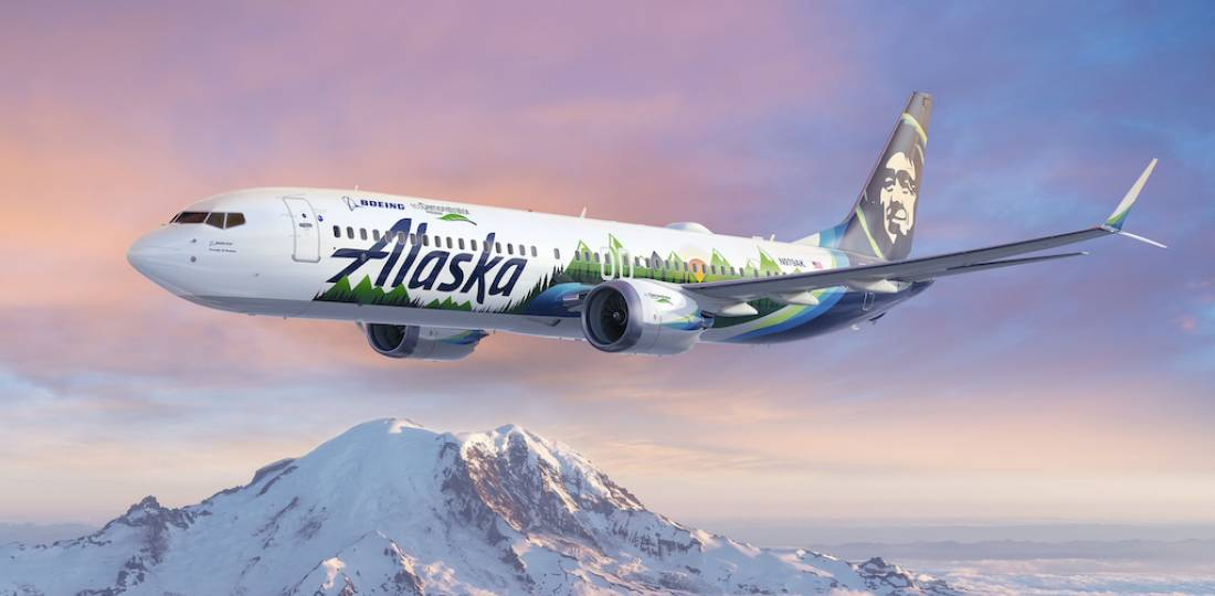 Boeing and Alaska Airlines team up to make flying safer and more sustainable