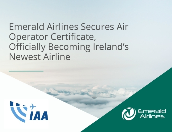 Ireland's newest carrier – Emerald Airlines