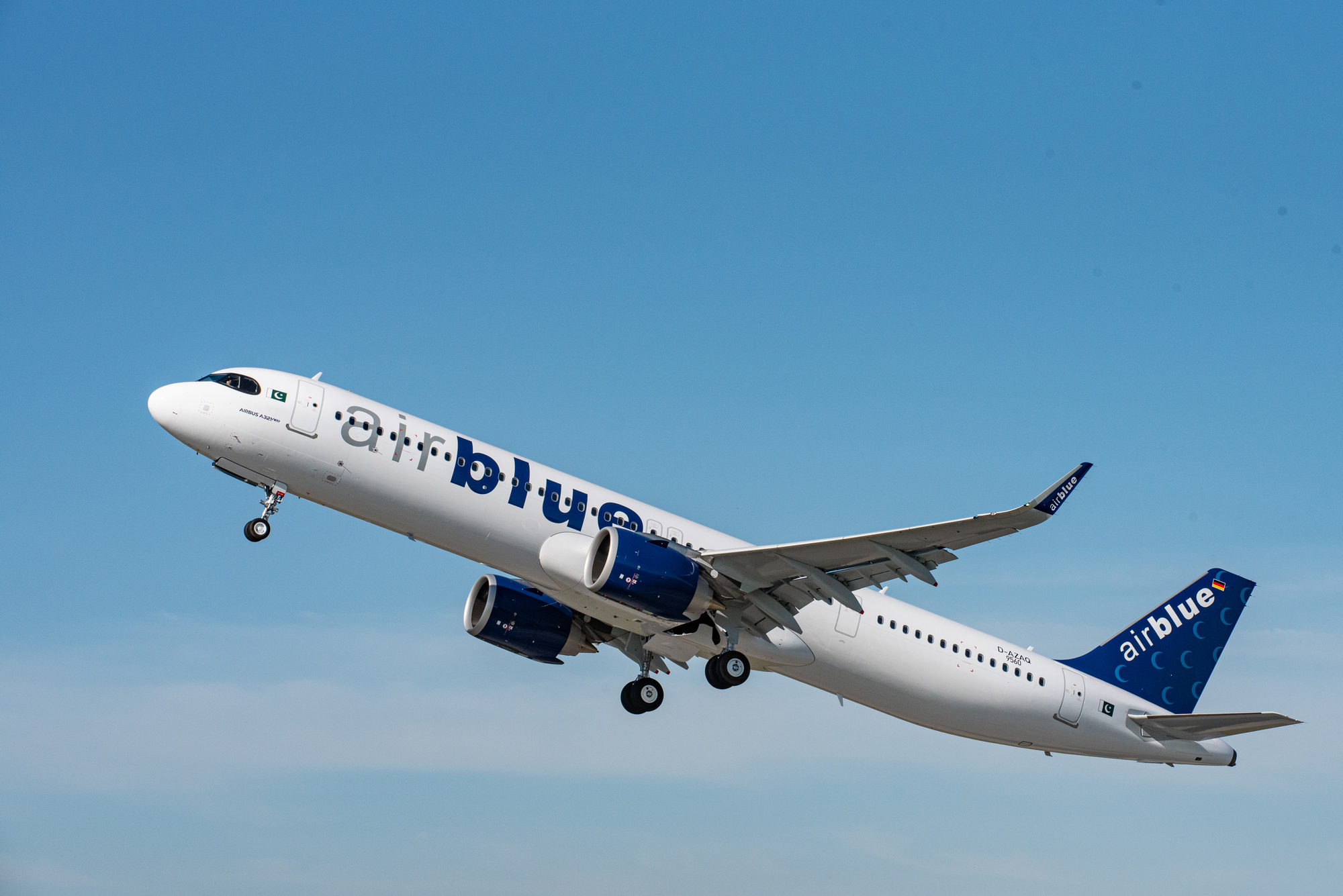 Airblue receives its first A321neo
