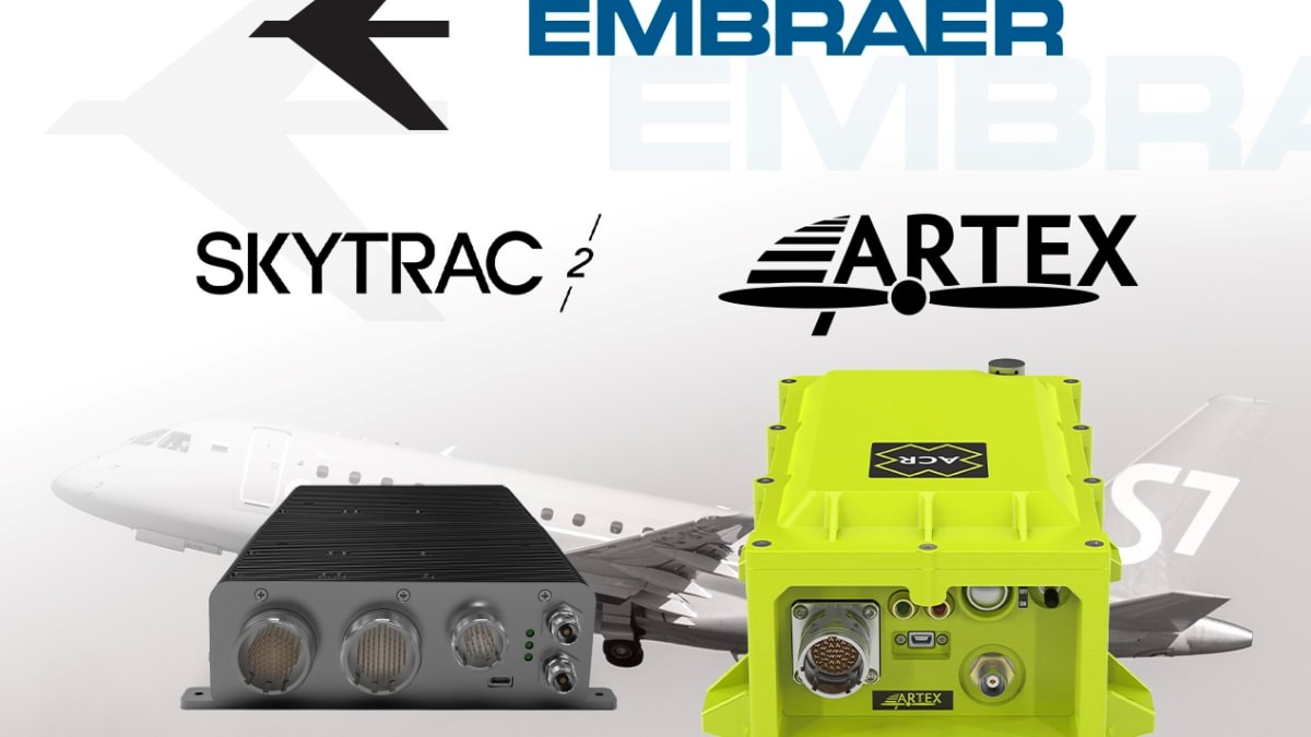 Embraer selects SKYTRAC and ACR Electronics to provide GADSS solution